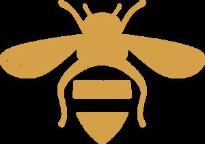 Bee Organized bee logo